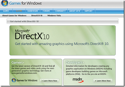 Microsoft Direct X 10