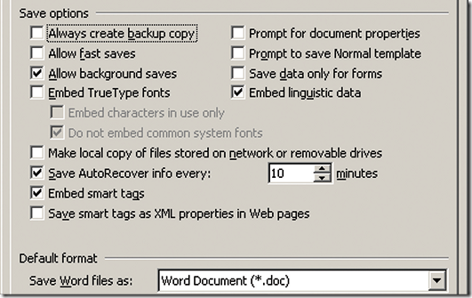 How to Create and Use a Default Format for Word Document