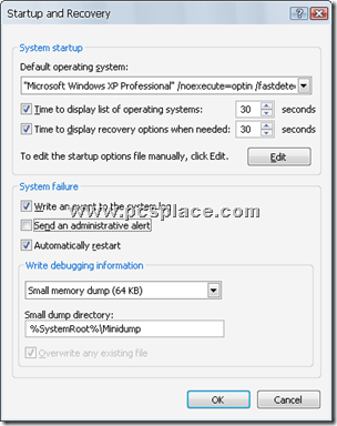 add safe mode boot option to startup