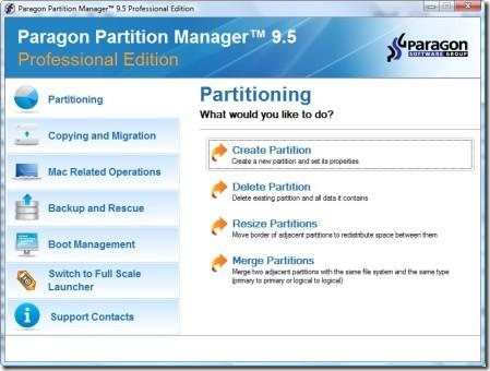 free download paragon partition manager