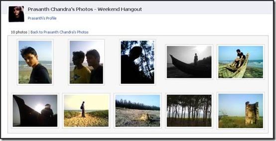 Facebook Albums - add photos and videos