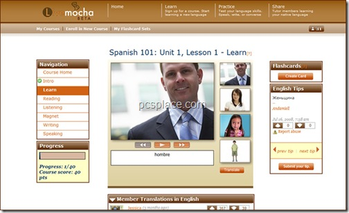 live mocha - learn languages online