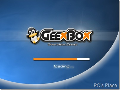 GeeXbox - media center Linux