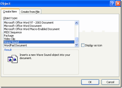 How To Add and Play Audio / Video Files In Microsoft Word