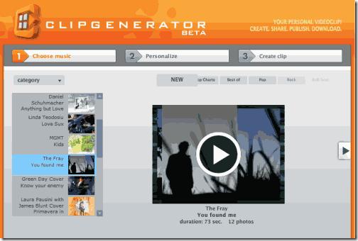 clip generator