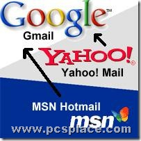 Import contacts from yahoo and msn to Gmail