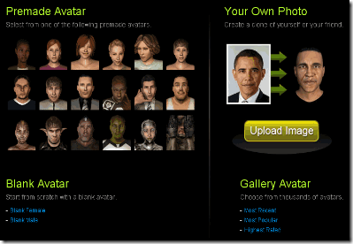 Avatara - Create Your Own Customized 3D Avatar For Your Social Network