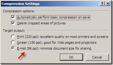 compress powerpoint presentations