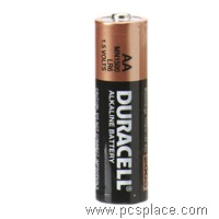 Alkaline AA battery for Digicams