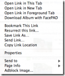 FacePAD - facebook photo album downloader