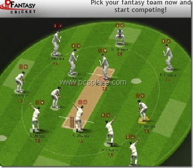 cricket games to play. Cricket Fantasy Game:  Play