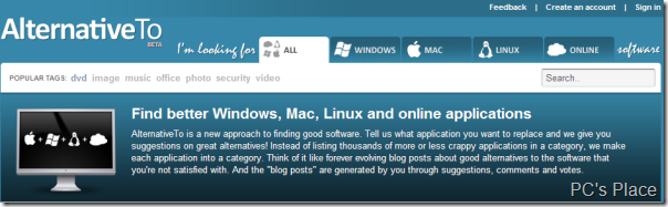 find alternatives to best software for windows,linux,mac and online