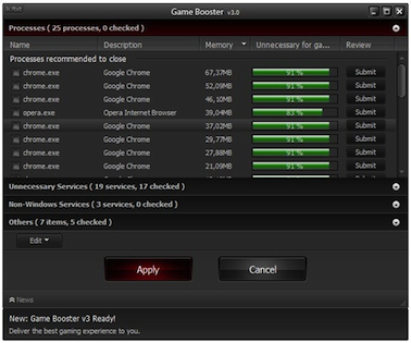 Game Booster 3 - Speed Up Games On Windows - Games Optimizer | PCs Place