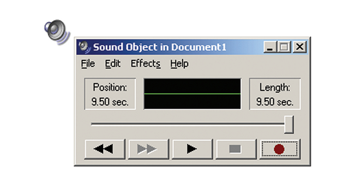 record voice annotations to word documents