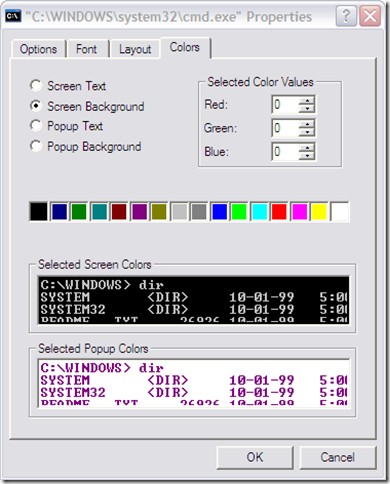 customize command prompt