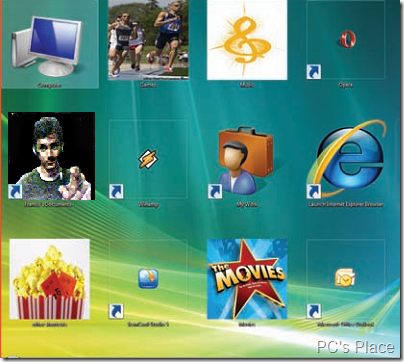 create vista icons