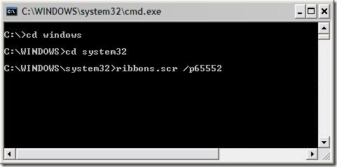 screensaver as desktop in vista