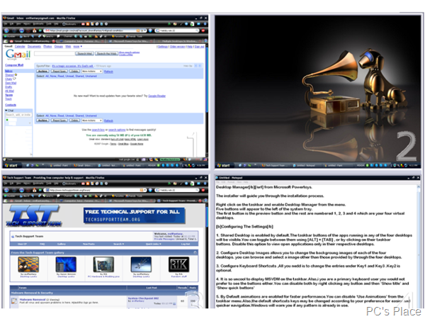 virtual desktop manager for windows xp