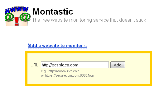 Montastic - monitor accessability of your website