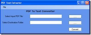 PDF Text Extractor - extract text from pdf