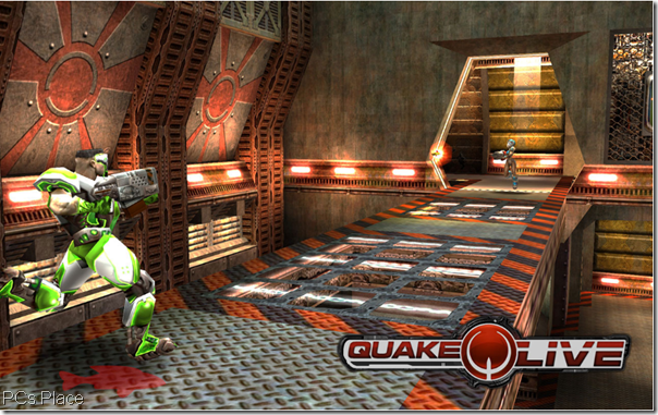 free quake live online - a first person shooter game