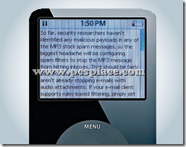 read text files and website content on iPod