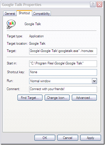 Run Multiple Instances of Google Talk with Different E-Mail Addresses at the same Time | PCs Place
