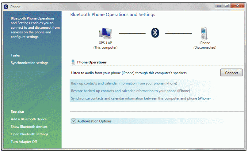 Sync iPhone With Windows 7 Using Bluetooth - Sync iPad Win 7