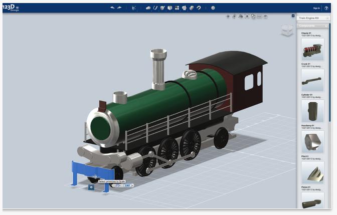 123D Design - Create 3D Models On Mac
