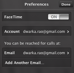 Add Another Email Account On FaceTime On Mac