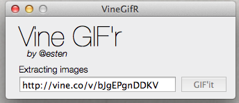 Convert Vine Videos To GIF On Mac