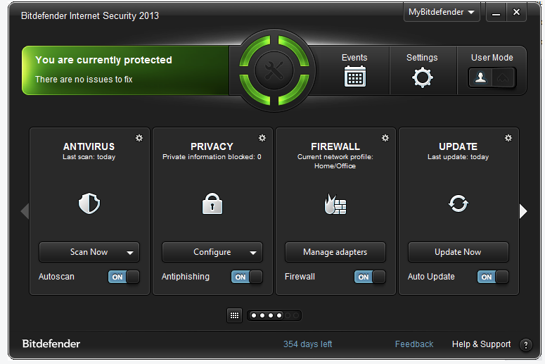 Free One Year License For BitDefender Internet Security 2013