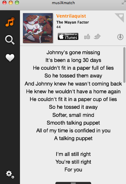 Best Way To Get Lyrics On Mac, iPhone, iPod - musiXmatch