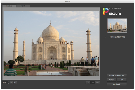 Unblur Images And Fix Out Of Focus Images Using Piccure