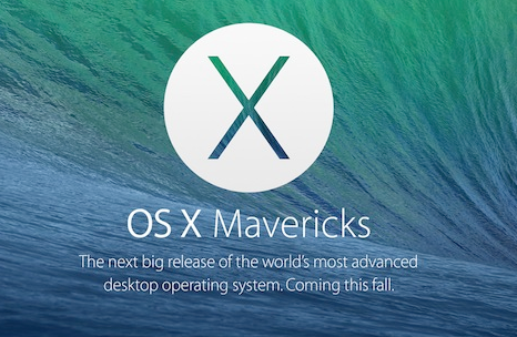 List Of Mac Machines Supporting Mac OS X Mavericks And Pre-Requisites