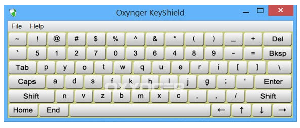 Oxygner - Virtual Keyboard For Windows - Anti Keylogger