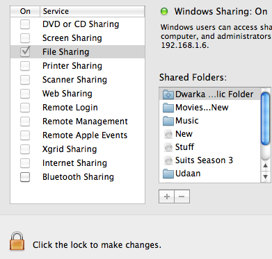 How To Share Files Between Windows 8 And Mavericks OSX