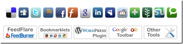 add into social bookmarking button