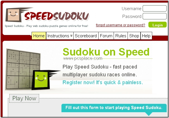 speed sudoku - multiplayer online sudoku game