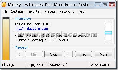 Screamer Radio - Free Internet Radio - listen and record