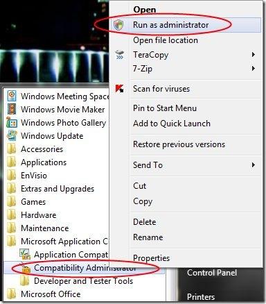 microsoft program compatibility toolkit
