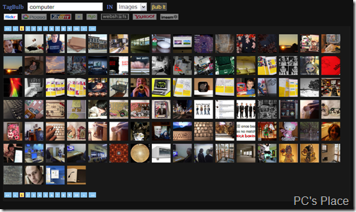 tagbulb - search images and videos through tags