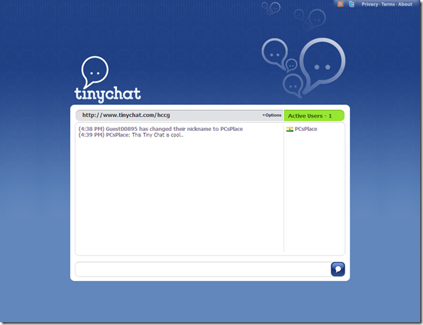Create your Own Online Chat Room with Tiny Chat | PCs Place