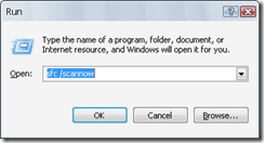 detect corrupt system files and replace them