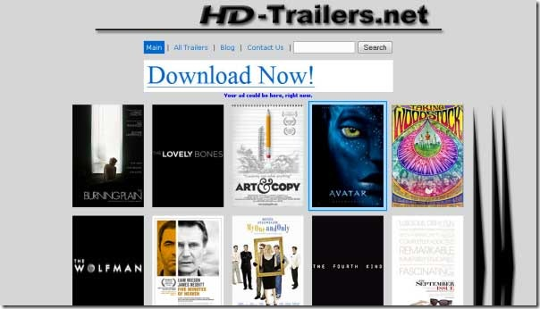 watch and download high definition trailers