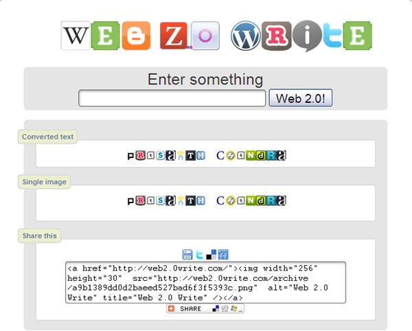 web2.0 write