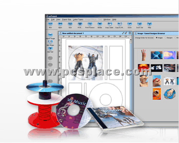 design and print cd cover with exPressIt