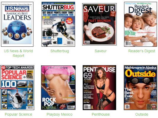 How to get free magazines online