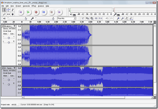 How to Mix Audio Tracks / Songs Together Using Audacity